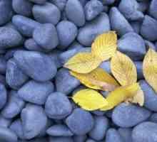 Gekleurde gesteentes vir landscaping