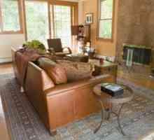Goeie kleurskemas vir bruin meubels